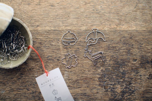 Happy shape paperclips.  I'm a paperclip collector (secretly).  :D