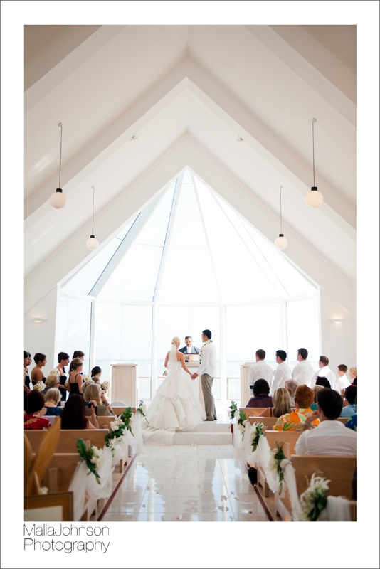 Shangri-La Fijian Resort.  Gorgeous Chapel!  Fiji Wedding Photography