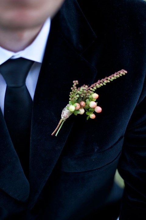 We've already discussed gorgeous wedding dresses for winter brides but what about their second halves? What can a groom wear on his big day to look stylish?