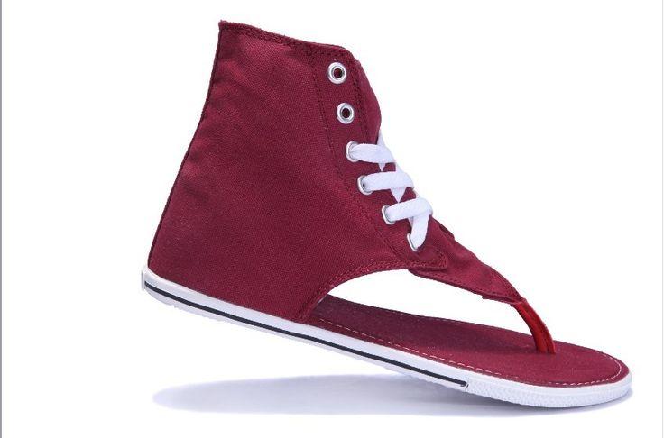 ALL STAR Roman Sandals Maroon