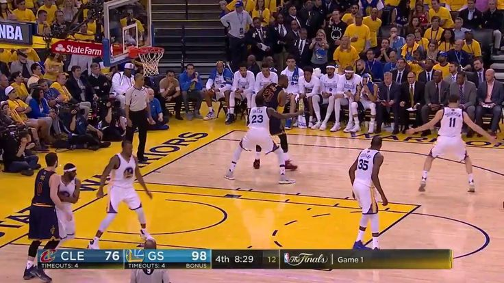 Before tip-off of NBA Finals Game 2 (8pm/et on ABC)... recap the best of Kevin Durant (38p, 8r, 8a) & LeBron James (28p, 15r, 8a) from Game 1!