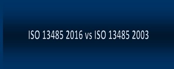 ISO 13485 2016: What's New?