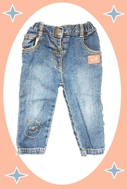 jean pantalon DISNEY bébé garçon fille mixte 12 mois val neuf 20€ winnie ourson