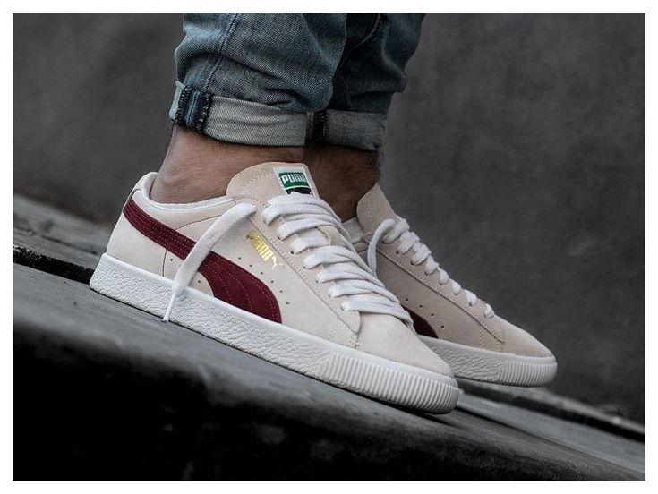Que vaut la Puma Suede 90681 Whisper White Pomegranate ? #sneakers ...