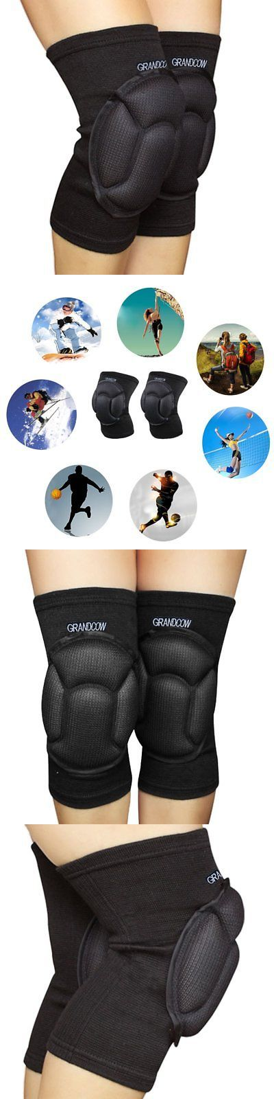 Elbow and Knee Pads 159065: Knee Pads Volleyball Work Construction Gardening Cleaning Dance Bike Mtb Protect -> BUY IT NOW ONLY: $32.85 on eBay!