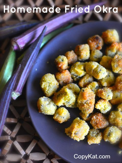 How to make homemade fried okra from scratch.