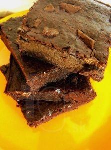 čokoládový brownies bez múky