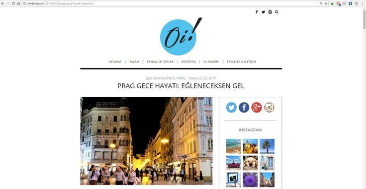 Son yılların en popüler seyahat bloglarından OiTheBlog ile ilgili bir değerlendirme yazısı...