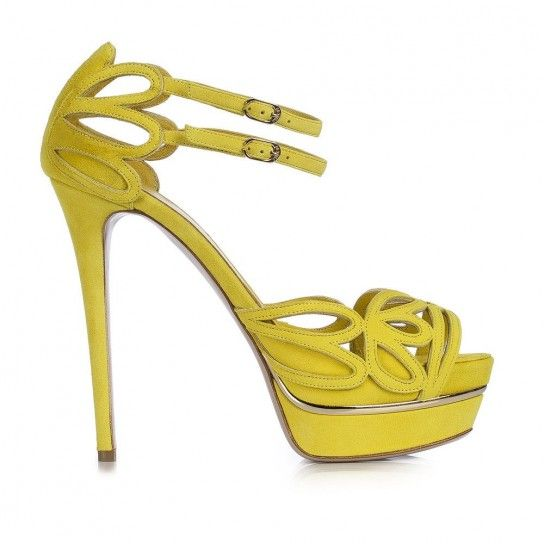 $: Sandali gialli Le Silla S/S 2014