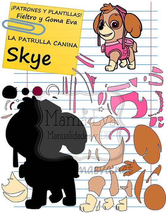 Plantillas Personajes Actuales La Patrulla Canina