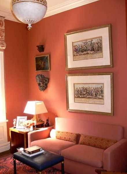 Terracotta orange colors and matching interior design How to match interior colors