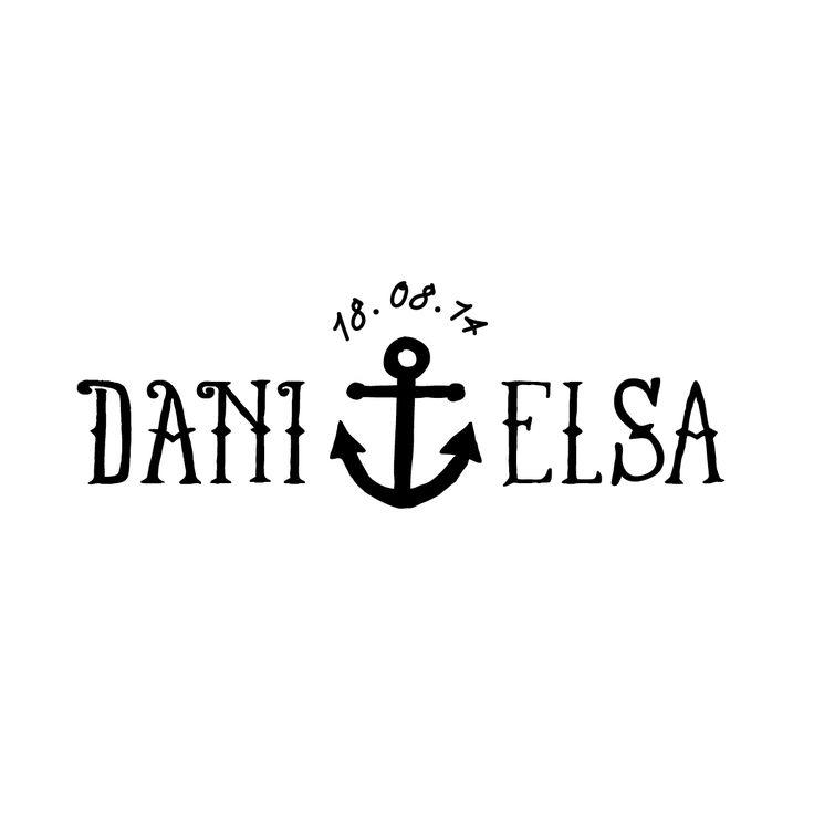 """El sello """"Navy"""" es ideal para parejas que comparten la pasión marítima. Podréis encontrar más sellos en: www.shop.aticomdesign.es  #sello #wedding #boda #perfectwedding #selloboda #sellodeboda #papeleriaboda #decoracionboda"""
