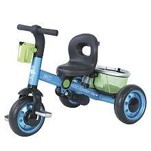 Avigo - Triciclo Evolutivo Aluminio Azul/Verde
