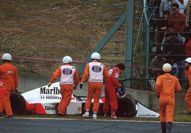Alain Prost McLaren - Honda Suzuka 1989