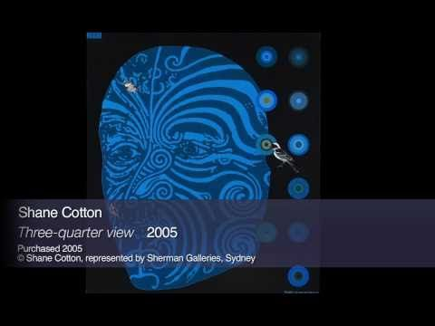 87 149998 - Shane Cotton 'Three-quarter view'  2005