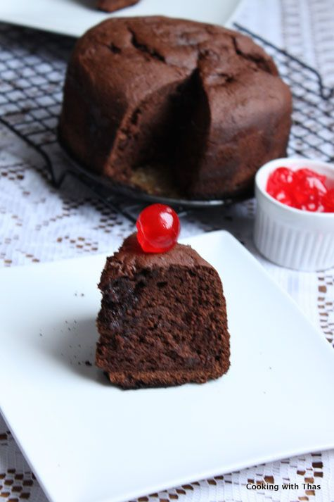 Chocolate Cake made in a Pressure Cooker | Cooking with Thas