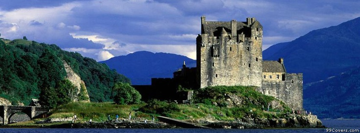 Eilean Donan Castle Loch Duich Scotland