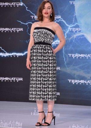 Emilia Clarke: Terminator Genisys Premiere -09