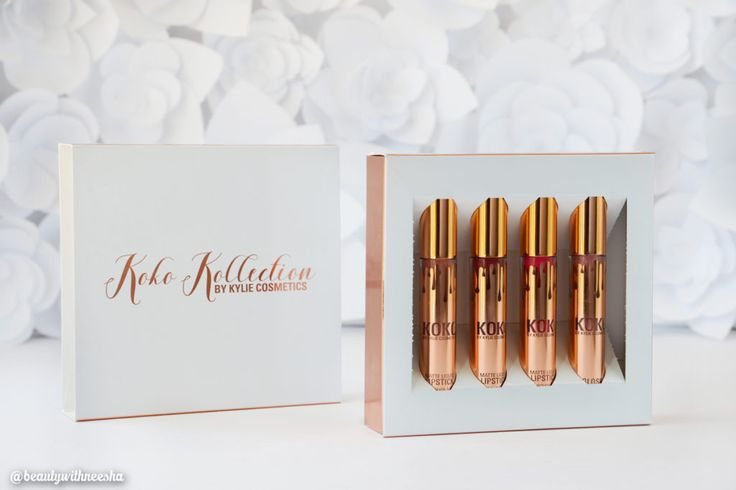 Kylie Cosmetics Koko Kollection Review and Swatch Kylie Cosmetics Koko Kollection Swatch