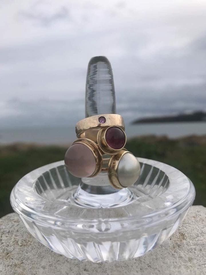 A selection of our beautiful rings. Shop now! #ring #gold #rose #ireland #sea #beach #waterfordcrystle #silver #pearl #beautiful #elegant #classic