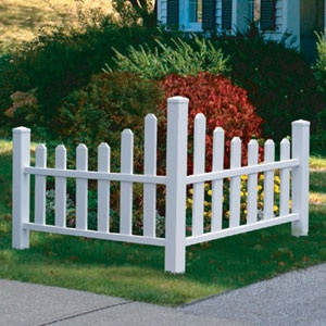 FENCE IDEA-I'm sure our stupid hoa probably wouldn't ok this