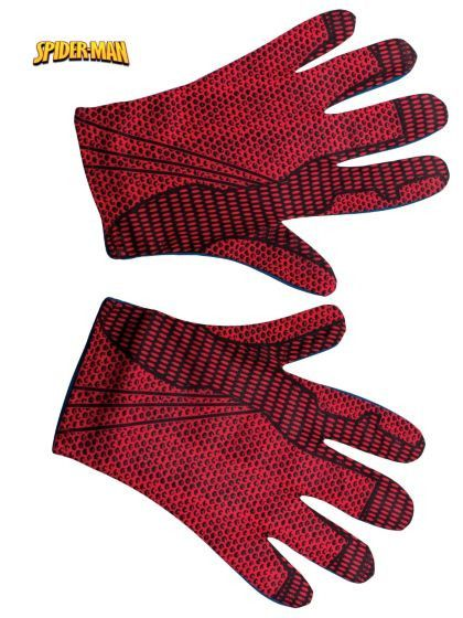 Spiderman Gloves, Adult   1 pair