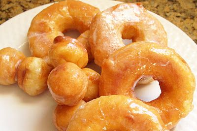 Semi-homemade doughnuts made with Grands biscuit dough