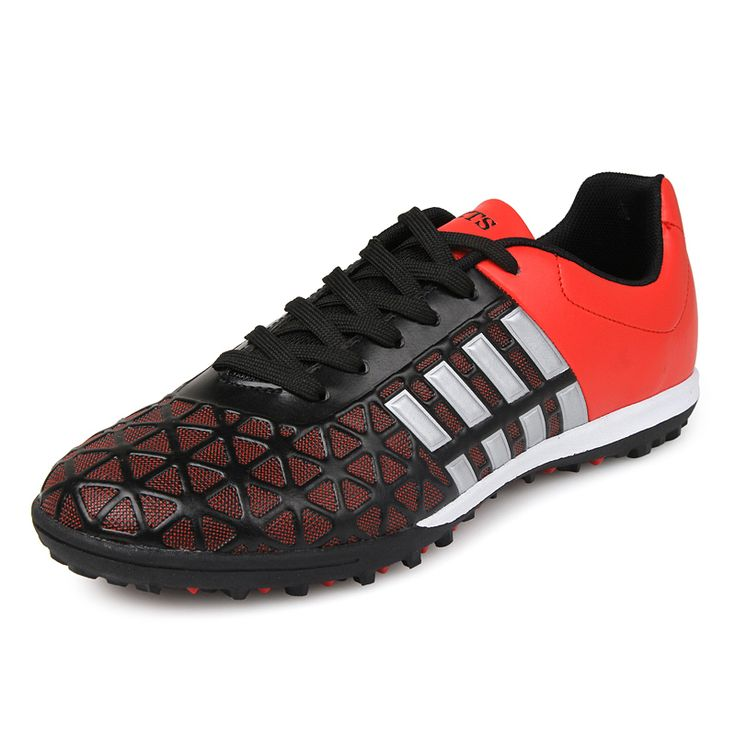 2016 Mens New Football Boots Indoor Cleats Turf Training Shoes Leather Soccer Sneakers Cheap Mens Football Shoes Turf Cleats Men