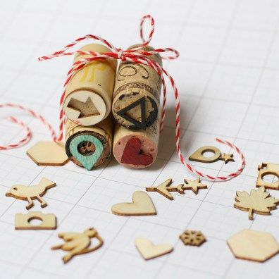 3 Ways to Make DIY Stamps from Wine Corks – Scrap Booking