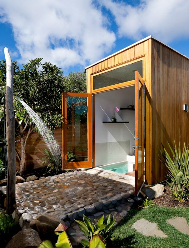 106 best Outdoor showers images on Pinterest Outdoor showers