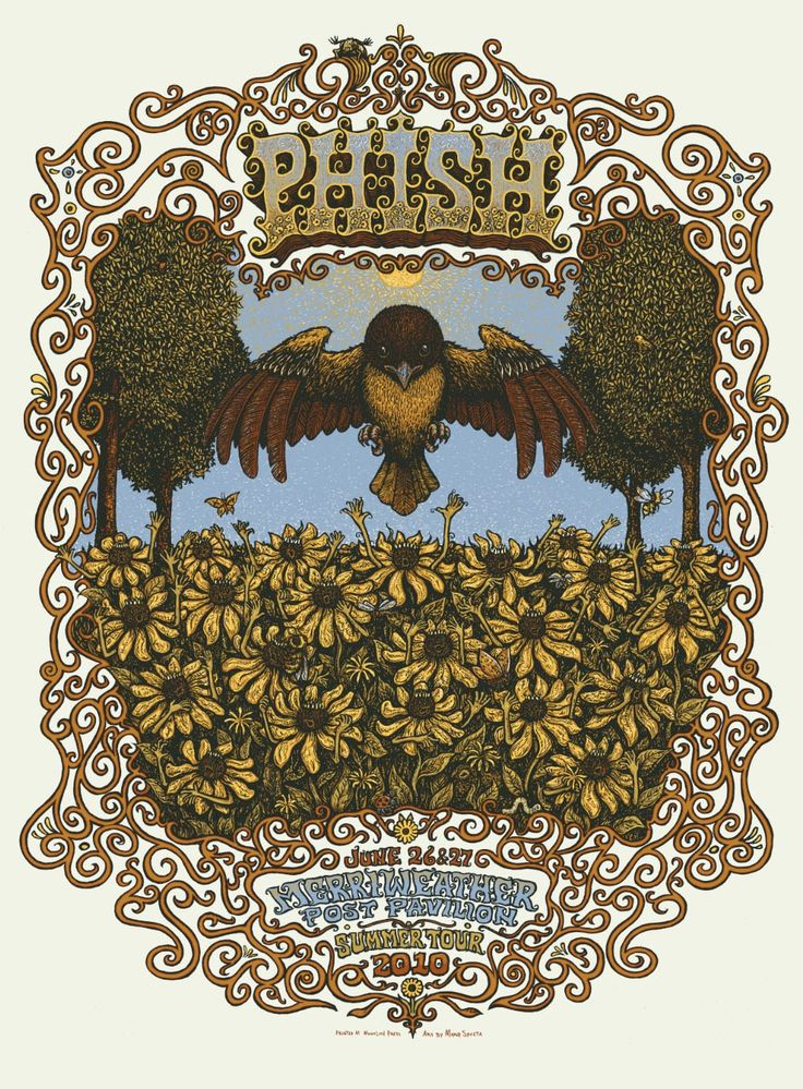 The Storybook-Psychedelic Rock Posters of Marq Spusta   Collectors Weekly