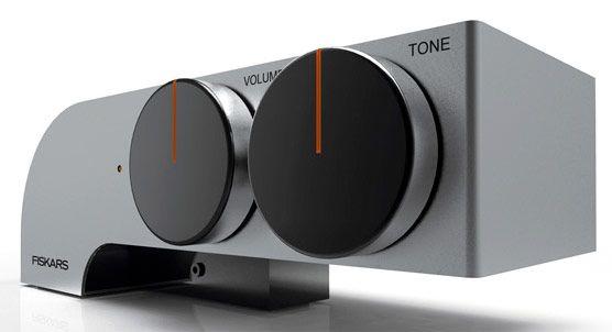 Fiskar's '88' headphone amplifier concept touts bombastic knobs, oodles of style -- Engadget