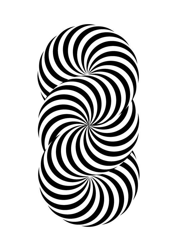 391 best graphic illusions images on pinterest optical for Graphic illusions