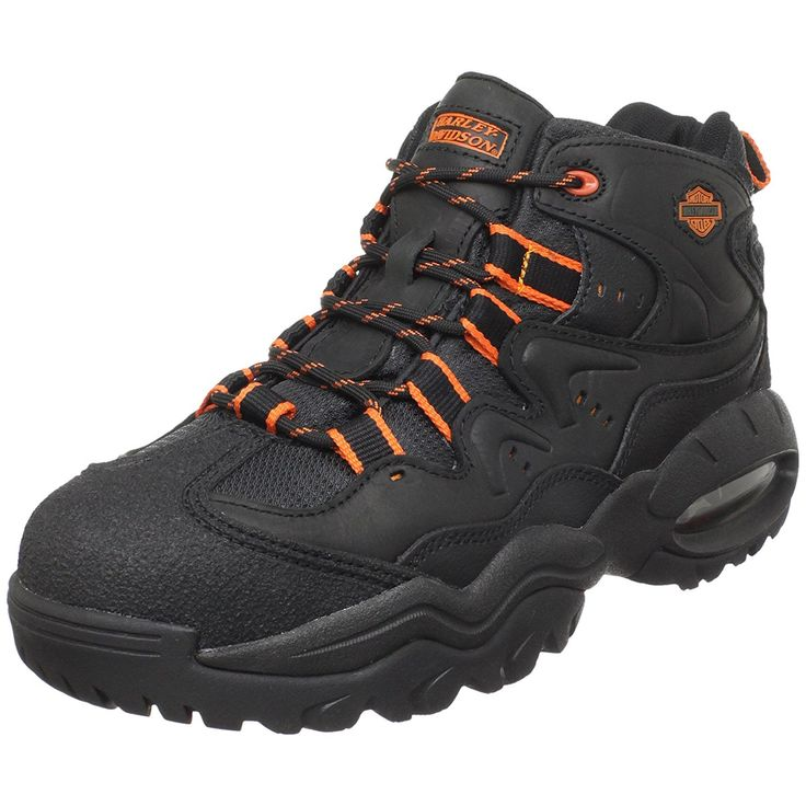 Harley-Davidson Men's Crossroads II Steel Toe Hiking Boot ** Startling review available here  : Hiking shoes