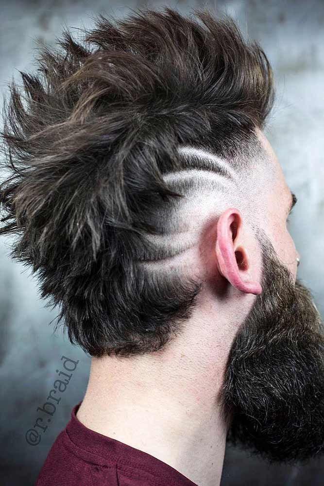 masculine viking hairstyles