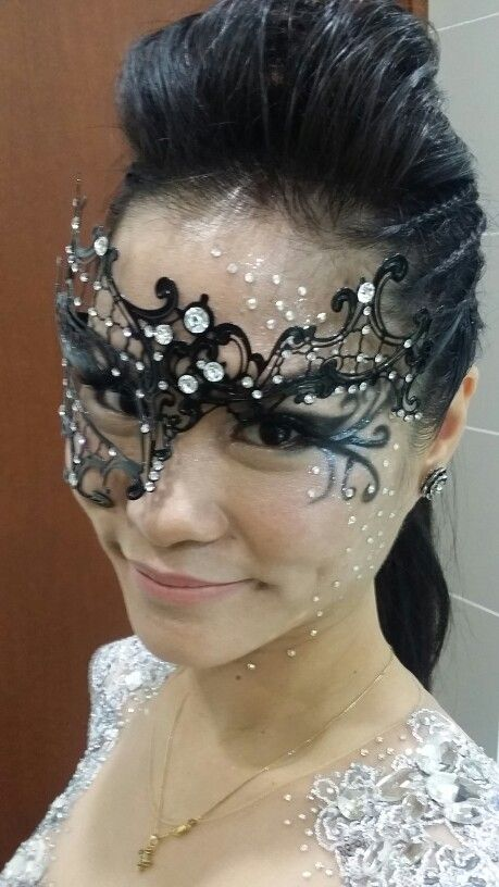 Masquerade party look Make up by Rachel Wong Hair by Angeline Low