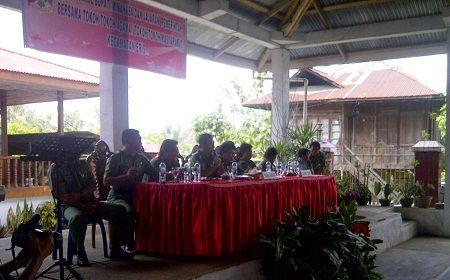 Wabup Minahasa Dialog Bersama Tokoh Masyarakat Eris