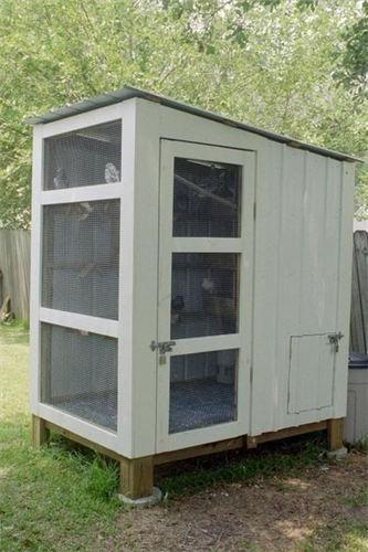 Quail Coop- like this design for my growing flock