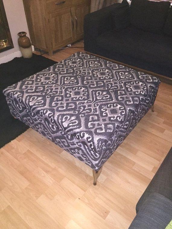 best 25+ large footstools ideas on pinterest | upholstered