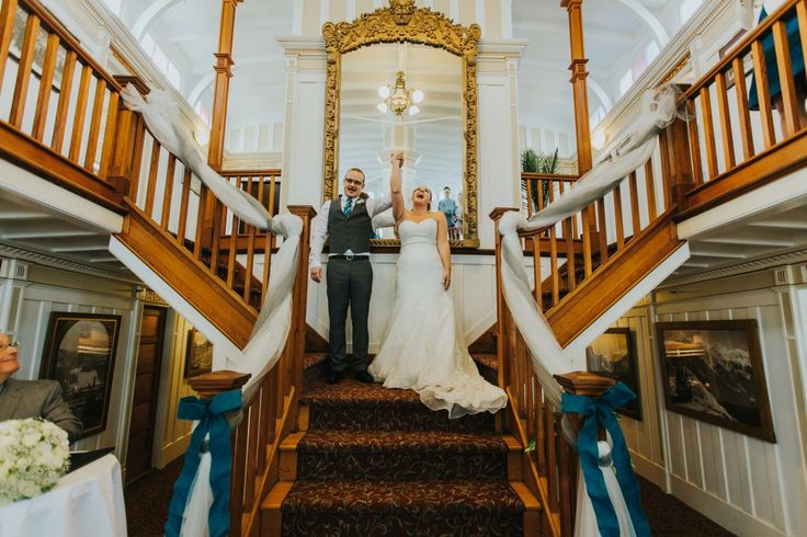 Barnett Wedding Photography. Venue Location: SS Sicamous Museum and Heritage Ship, Penticton, South Okanagan.
