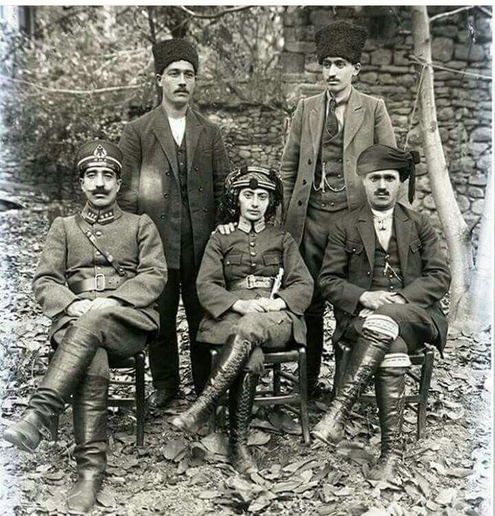 Kurtuluş savaşının sembol isimlerinden Kara Fatma ve Kuvayı Millîyeciler 1920
