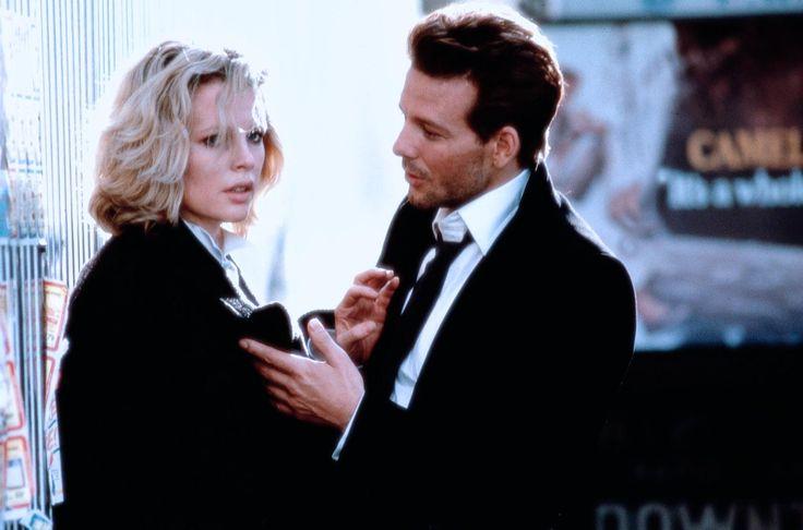 Kim Basinger and Mickey Rourke in 9 1/2 Weeks.