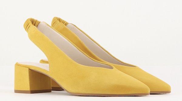 8d9e2159190 Catálogo Zapatos Lodi Primavera Verano 2018 amarillos medio ...