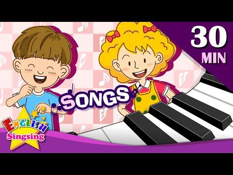 What are you doing?+More Kids Songs   English songs for Kids   Collection of Animated Rhymes - YouTube