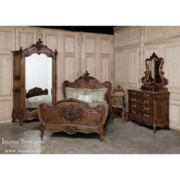 988 best antique bedroom furniture beds images on for French antique bedroom ideas