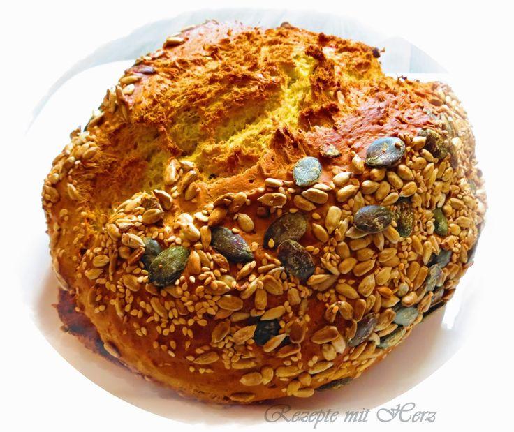 Rezepte mit Herz ♥: Schnelles Joghurt-Brot