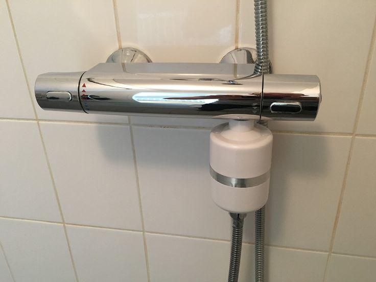 Met deze Berkey Douche filter verminder je chloor, kalkaanslag en schimmels in de badkamer. Vermindert krachtighet contact van chemicaliën met dehuid en l