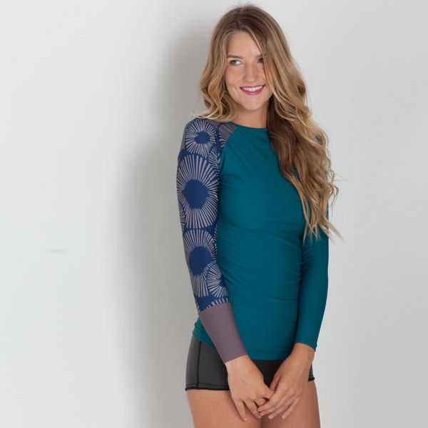 Doheny Rashguard - Blue Fossil #seea $65 #favorite