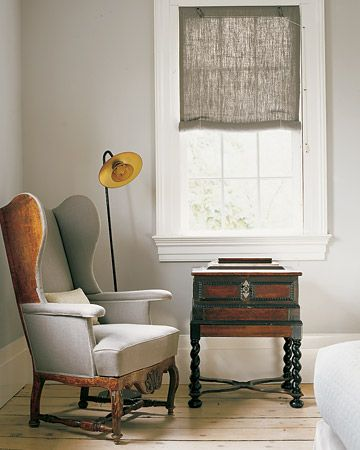 Linen and Light  Get the look with Martha Stewart Living Paint Color in Whetstone Gray at the Home Depot.