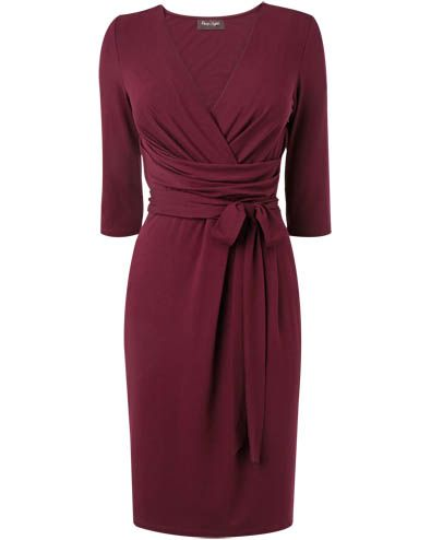 Fixed Wrap Dress. Very simple, elegant, and chic. Good if I want my look to skew a little older or more expensive.